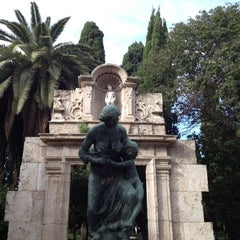 Photo taken at Jardins del Reial - Vivers by Carlos T. on 12/16/2012