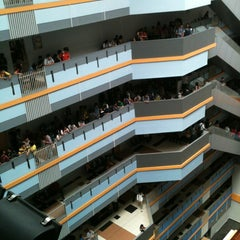 Photo taken at BINUS University by Moh Fakhri A. on 10/27/2013
