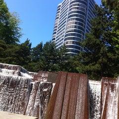 Photo taken at Ira C. Keller Fountain by Grace C. on 5/20/2013