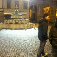 Photo taken at Fontana della Pigna by Andrea I. on 1/16/2013