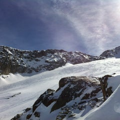 Photo taken at Les Grands Montets by Sweech on 3/21/2013