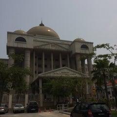 Photo taken at Kompleks Mahkamah Kuala Lumpur (Courts Complex) by azihuhu on 10/6/2015