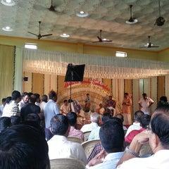 Photo taken at Ashwathy Kalyana Mandapam by Sahal M. on 8/19/2013
