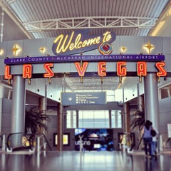 Photo taken at McCarran International Airport by Lili on 7/3/2013