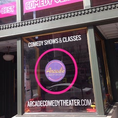 Photo taken at Arcade Comedy Theater by @The Food Tasters on 3/25/2015