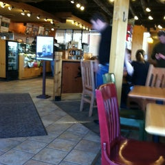 Photo taken at Caribou Coffee by Leo S. on 1/23/2013