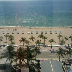 Photo taken at Courtyard by Marriott Fort Lauderdale Beach by Rose C. on 7/9/2012