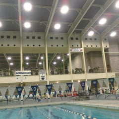 Photo taken at McCoy Natatorium by Aaron M. on 3/10/2011