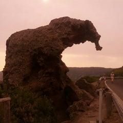 Photo taken at Roccia Dell'elefante by Chiara L. on 9/8/2013