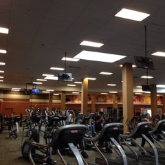 Photo taken at LA Fitness by Ibrahim K. on 6/18/2014