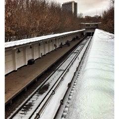 Photo taken at Метро Фили (metro Fili) by Alex G. on 3/17/2013