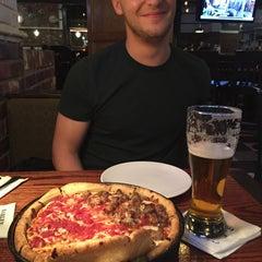 Photo taken at Uno Pizzeria & Grill - Boston by Sara T. on 10/4/2014
