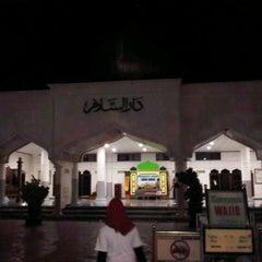 "Photo taken at Masjid Agung ""DARUSSALAM"" Bojonegoro by ciwir k. on 1/18/2013"