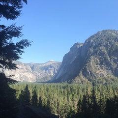 Photo taken at Lower Yosemite Falls by aaron d. on 9/5/2015