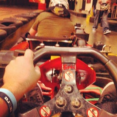 Photo taken at Fast Lap Indoor Kart Racing by Ryan C. on 4/6/2013