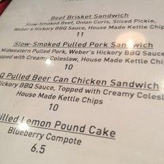 Photo taken at Weber Grill Restaurant by Gwynne K. on 9/30/2012