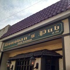 Photo taken at Donovan's Pub by eric t. on 5/25/2015
