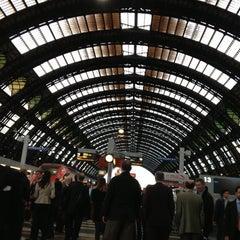 Photo taken at Stazione Milano Rogoredo by Hilaria on 5/8/2013