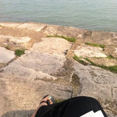 Photo taken at Chicago's Lakefront (Hyde Park) by Racquel P. on 5/18/2013