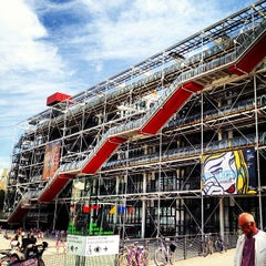 Photo taken at Centre Pompidou – Musée National d'Art Moderne by Ekaterina G. on 8/5/2013