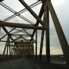 Photo taken at McNary Bridge by Dani S. on 2/24/2013