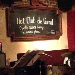 Photo taken at Hot Club de Gand by Uschi C. on 2/13/2013