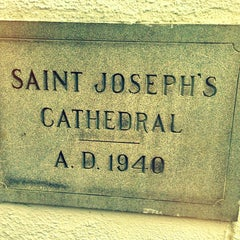 Photo taken at Saint Joseph Cathedral by carlos p. on 4/7/2013