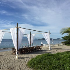Photo taken at Four Seasons Resort Nevis, West Indies by Alexa M. on 12/10/2014