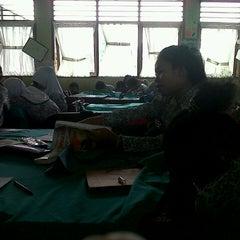 Photo taken at SMP Negeri 8 Bogor by Amara NIzzati on 1/16/2014