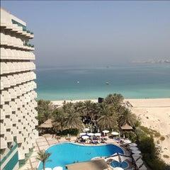 Photo taken at Hilton Dubai Jumeirah Resort by Jamal A. on 5/12/2013