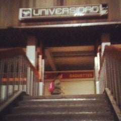 Photo taken at Metro Universidad (Línea 3) by Yo soy raul on 12/5/2012