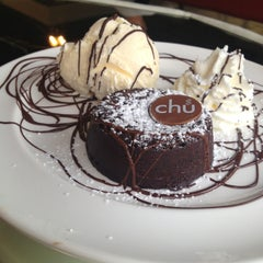 Photo taken at Chu Chocolate Bar & Café by Kunrat C. on 4/24/2013