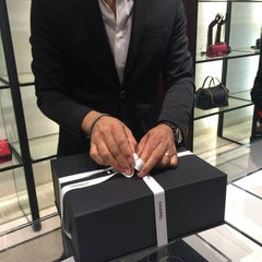 Photo taken at CHANEL Boutique by Bebe L. on 3/7/2015
