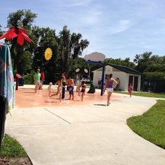 Photo taken at Oldsmar Spray Park by Jayme C. on 6/28/2014