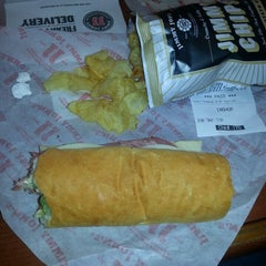 Photo taken at Jimmy John's by Marie R. on 12/4/2013