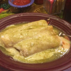 Photo taken at Mexico Lindo Restaurant by Ashley F. on 1/24/2014