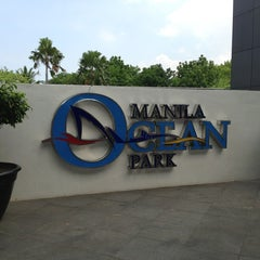 Photo taken at Manila Ocean Park by Franz C. on 3/29/2013