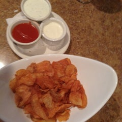 Photo taken at Woody's Grille & Spirits by abbydunning on 7/28/2014