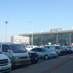 Photo taken at Aeroporto Internacional de Maputo by Unjoung C. on 5/23/2013