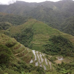 Photo taken at Banaue Rice Terraces Viewpoint by marcky04 (teetz WHENG) on 11/24/2015