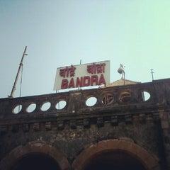 Photo taken at Bandra Railway Station by Arjun M. on 2/22/2013