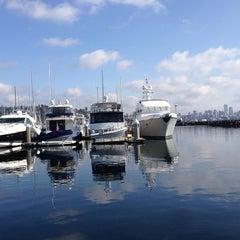 Photo taken at Elliott Bay Marina by Kathy L. on 10/13/2013