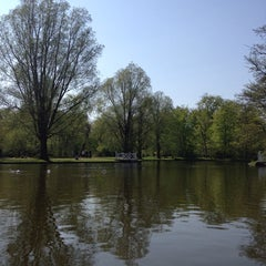 Photo taken at Legepladsen - Frederiksberg Have by Sara G. on 4/26/2014