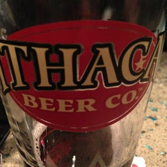 Photo taken at Ithaca Beer Co. Taproom by Will Q. on 3/6/2013