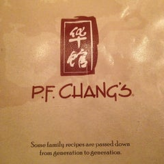 Photo taken at P.F. Chang's by Jaritza O. on 5/17/2013