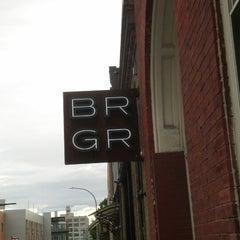 Photo taken at BRGR Bar by Steven S. on 5/6/2013