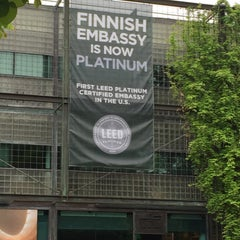 Photo taken at Embassy of the Republic of Finland by Tony L. on 5/9/2015
