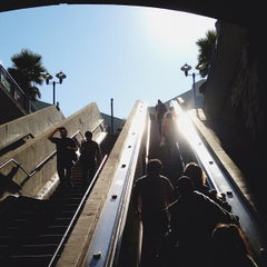 Photo taken at 16th St. Mission BART Station by Daniel W. on 10/1/2012