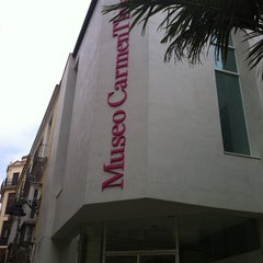 Photo taken at Museo Carmen Thyssen Málaga by Kata E. on 4/17/2013