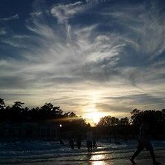 Photo taken at Ocean Breeze Waterpark by Jill E. on 7/26/2013